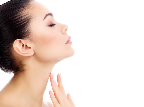 Neck aging signs