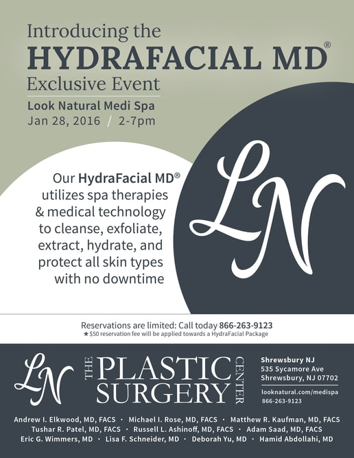 Hydrafacial MD Exclusive event