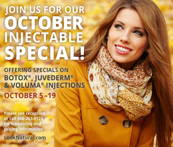 October Injectable Special