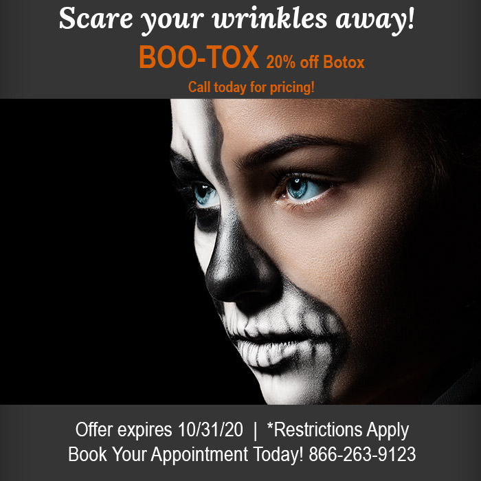 scare your wrinkles away