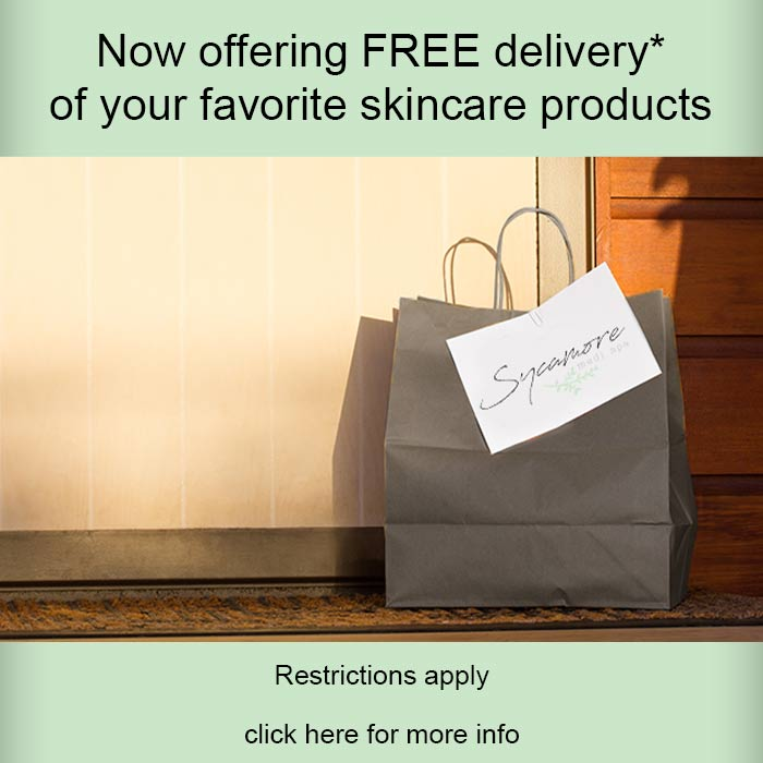 free delivery on skincare products