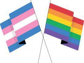 June pride month flags