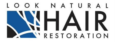 look natural hair restoration logo